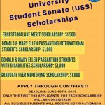 USS Scholarship Flyer