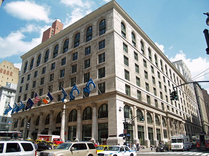 graduate center building in Manhattan, New York