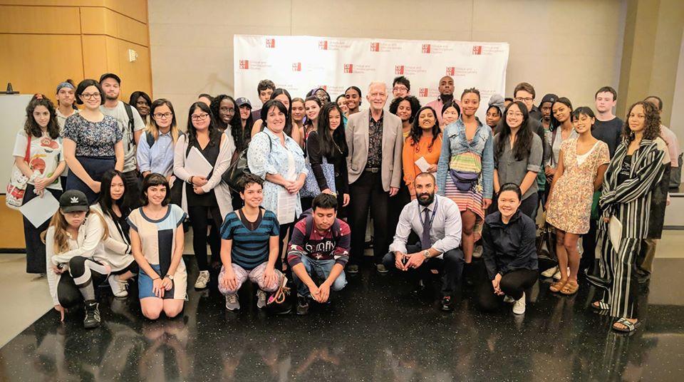 CUNY BA students at orientation