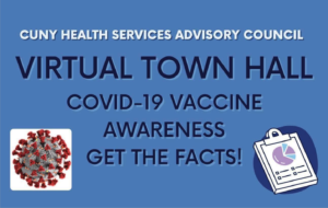 cuny health service - virtual town hall