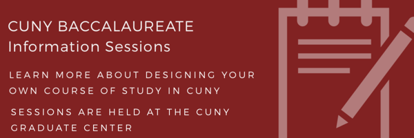 CUNY BA Info Session Banner #CUNYBA