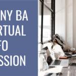CUNY BA Info Session grey blue