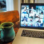mug next to macbook